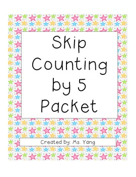skip counting by 5 packet by soua yang teachers pay teachers. Black Bedroom Furniture Sets. Home Design Ideas