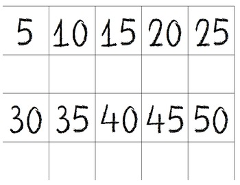 Skip Counting by 5 and 10