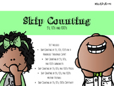 Skip Counting by 5's, 10's, and 100's Pack