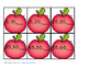 Skip Counting by 5's Apples