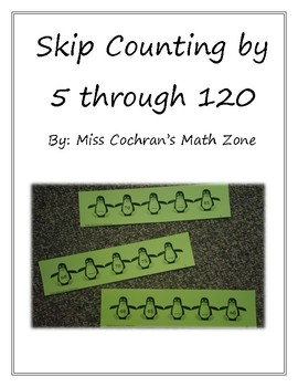 Skip Counting by 5 through 120