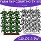 Skip Counting by 5s & 10s Clip Art - Farm Skip Counting {jen hart Clip Art}