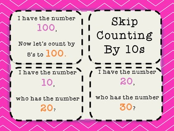 Skip Counting by 5s, 10s, and 100s. Common Core State Standard 2.NBT.2