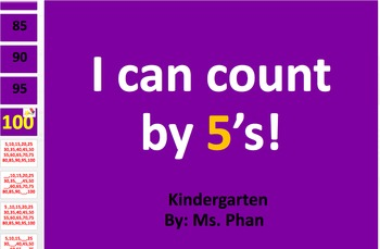 Skip Counting by 5s!