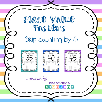 Place Value Posters (5s)