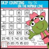 Number Line Skip Counting Worksheets