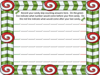 Skip Counting by 5s, 6s, & 7s - Christmas Math Tubs