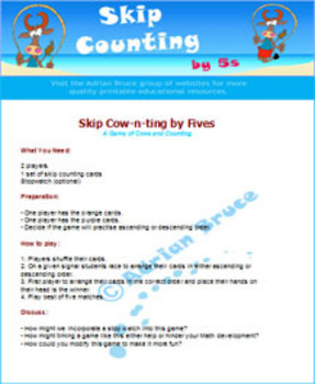Skip Counting by 5s Game