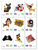 Skip Counting by 5's Top It with Pirate Dogs