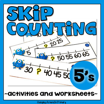 Skip Counting by 5s Centers