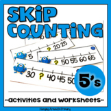 Skip Counting by 5 Activities and Worksheets