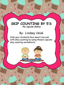 Skip Counting by 5's with cupcakes!