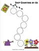 Skip Counting by 6s Worksheets - Paths, Mazes & Puzzles