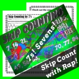 Skip Counting by 7s Worksheet for Multiplication with Skip