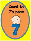 Skip Counting by 7s poem!