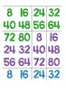 Skip Counting by 8s Game