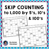 Skip Counting by Fives, Tens and Hundreds to One Thousand: 2.NBT.A.2 {Free!}