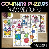 Counting by Tens Puzzles Numbers 10-120