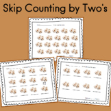 Skip Counting by Two's Worksheets