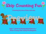 Skip Counting for Promethean Boards