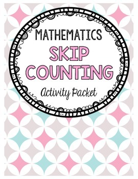 Skip Counting from 0 to 1000 Activity Packet