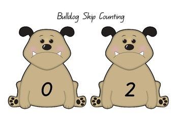 Skip Counting in 2's Bulldogs