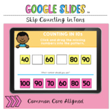 Skip Counting in Tens 10 to 100 Google Slides™ Activity