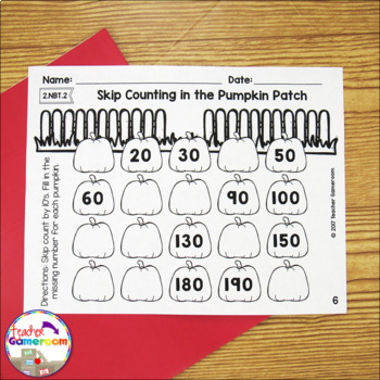 Skip Counting by 2's 5'sa nd 10's Worksheets