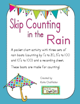 Skip Counting in the Rain