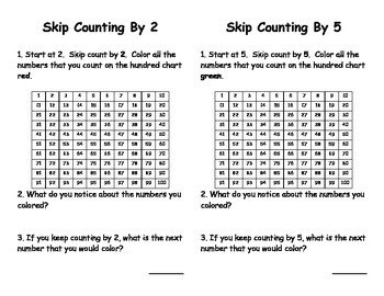 Skip Counting on the Hundred Chart Book