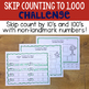 Skip Counting to 1,000 Challenge