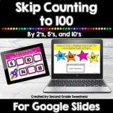 Skip Counting to 100 Google Slides or Google Classroom   D