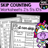Skip Counting to 100 Worksheets
