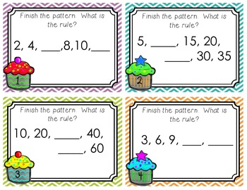Skip Counting to 120 (Common Core Aligned Task Cards)