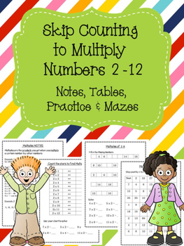 Skip Counting to Multiply