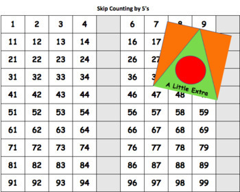 Skip Counting with 100 Chart