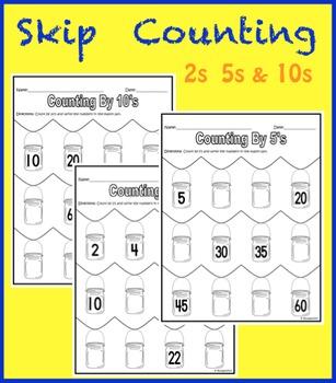 Skip Counting with Mason Jars