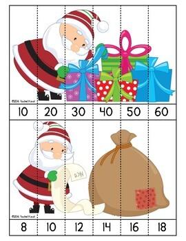 Skip Counting with Santa!