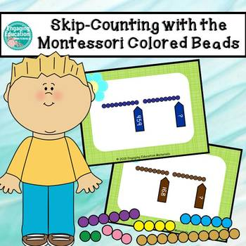 Skip Counting with the Montessori Colored Beads