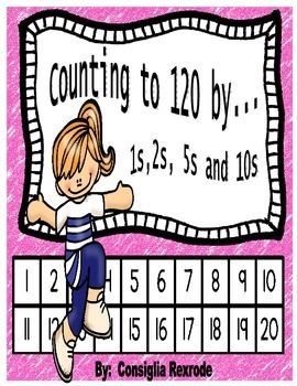 Skip Counting/Counting by 1s, 2s, 5s, 10s to 120