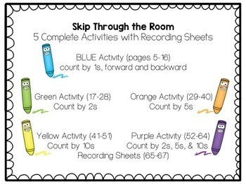 Write the Room-Skip Counting