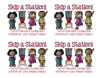 Skip-a-Station Student Reward Coupon