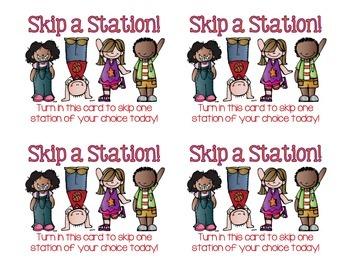 Skip-a-Station Student Reward Coupon