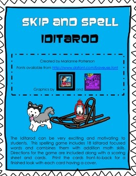 Skip and Spell - Iditarod