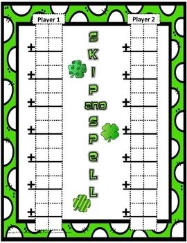 Skip and Spell - St. Patrick's Day
