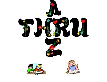 Skip and hop thru letters A to Z