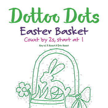 Skip count by 2s, starting at 1, Easter Basket Math Activity
