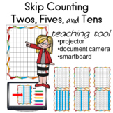 Skip counting 2's, 5's, 10s  Hundreds Charts