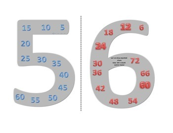 Skip counting 5s & 6s