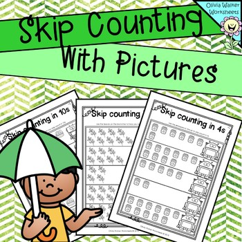 Skip counting  : Use Pictures / Images to skip count
